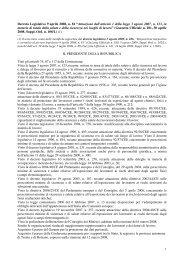 Testo Unico sulla Sicurezza - Associato Istituto Comprensivo ...