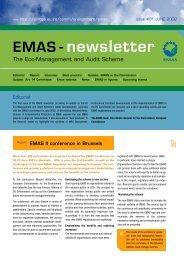 EMAS - newsletter