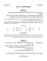 Jul.lín 11: Reshit Haguez - Kol Tuv Sefarad