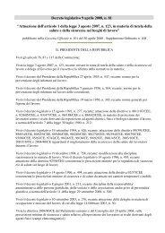 D.Lgs. 81 Sicurezza & salute nei luoghi di lavoro - Magap