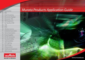Murata Products Application Guide 2013