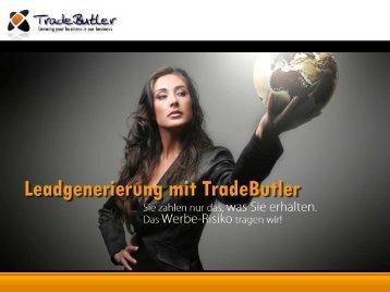 Irek Gronert - TradeButler