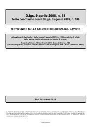 Testo unico sulla salute e sicurezza sul lavoro - Menabue carrelli ...