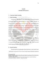 BAB III METODE PENELITIAN A. Lokasi dan Subjek Penelitian 1 ...
