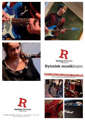Rytmisk musiklinjen - Ryslinge Efterskole