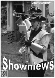 Clubblad Kerst 2011 - Showband Sas van Gent