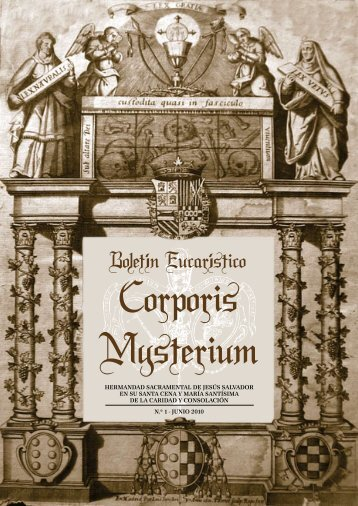Publicacion Nº 1, año 2010 - Hermandad Sacramental de Jesús ...