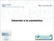 Web e social media - Unipro