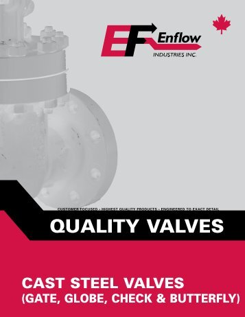 View Butterfly Valve Pages from Brochure - Enflow Industries Inc.