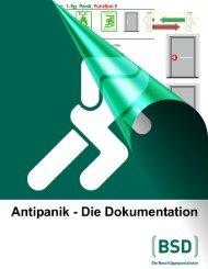 Antipanik - BSD Beschläge Design AG