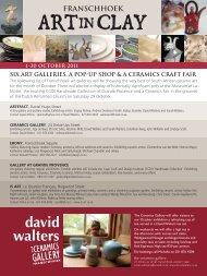 ART IN CLAY - David Walters
