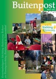 2012 maart, nummer 1 - Stichting Buitenzorg