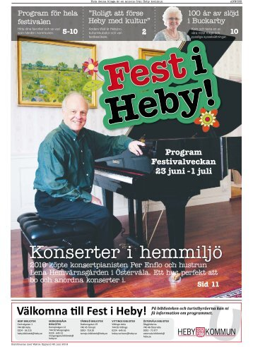 Fest i Heby! - IQ Pager