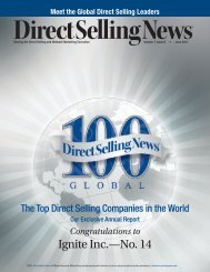 Direct Selling News - Stream Energy