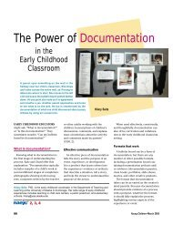 The Power of Documentation - National Association for the ...