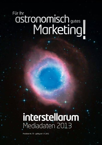 Media-Daten 2013 (PDF) - Oculum-Verlag