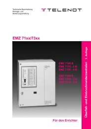 EMZ 71xx/73xx - TELENOT