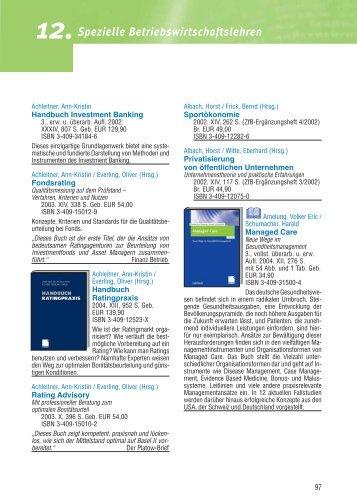 12.spezielle Betriebswirtschaftslehren