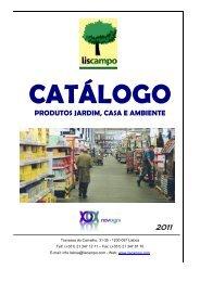 Conheça o nosso de Catálogo Produtos Consumo - Liscampo
