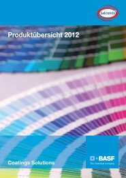 Salcomix-Produktübersicht 2012 - BASF Coatings Services GmbH