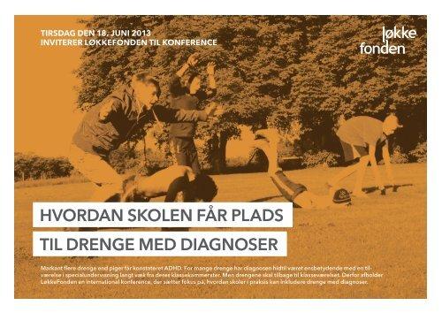 Læs mere om konferencen - LøkkeFonden