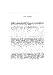 BOOK REVIEWS Joe Diestel, Jan H. Fourie and Johan Swart, The ...