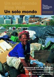 Un seul monde Eine Welt Un solo mondo - Deza - admin.ch