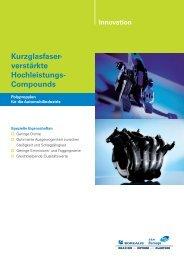 Kurzglasfaser- verstärkte Hochleistungs- Compounds - Borealis