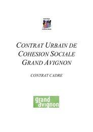 contrat urbain de cohesion sociale grand avignon - CRPV-PACA
