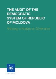 the audit of the democratic system of republic of moldova