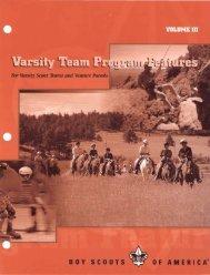 Varsity teams - Troop 370