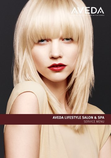 Download Aveda Service Menu 2013 - Aveda Institute
