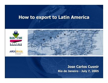 How to export to Latin America - MBI