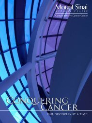 Multiple articles in Conquering Cancer - Larsen Communications
