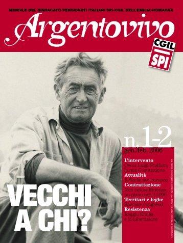 Argentovivo gen-feb 06-01.indd - Spi-Cgil Emilia-Romagna