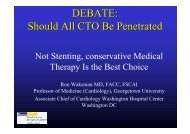 DEBATE: Should All CTO Be Penetrated - summitMD.com