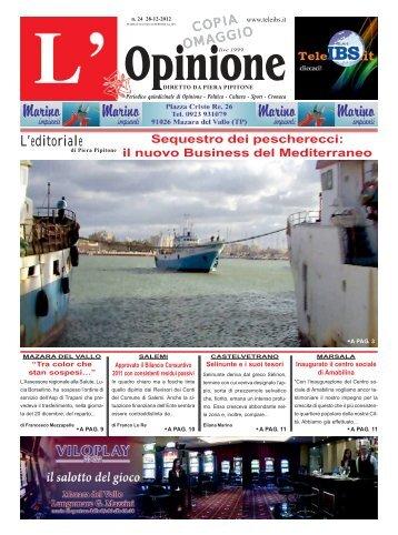 L'Opinione n°24 del 28-12-2012 - teleIBS