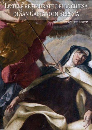 Tele restaurate e nuove scoperte nella chiesa di S. Gaetano - Brescia