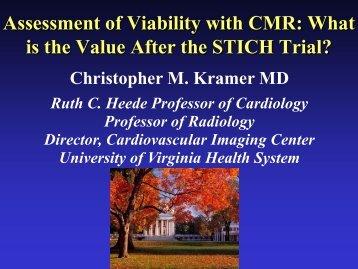 Cardiovascular MRI: The Future is Now - Washington Hospital Center