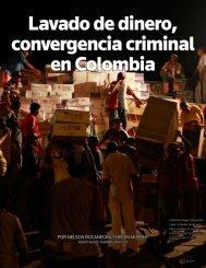 Lavado de dinero, convergencia criminal en Colombia