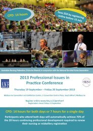 2013 Professional Issues in Practice Conference