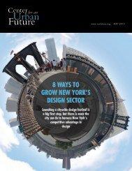 8 Ways To Grow New York's Design secTor