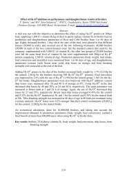 Effect of Hy-D®addition on performance and slaughterhouse ... - CABI