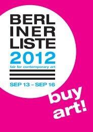 buy art! - Berliner Liste