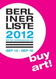 buy art! - Berliner Liste
