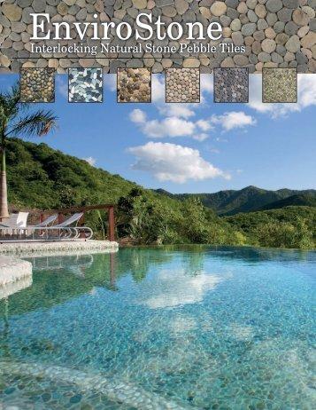 Interlocking Natural Stone Pebble Tiles - EnviroStone