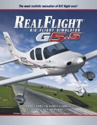 RealFlight G5 Manual (21MB) - Great Planes Software Support