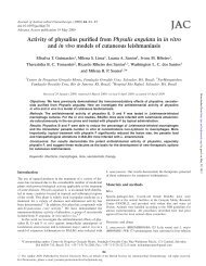 Activity of physalins purified from Physalis angulata in in vitro and in ...