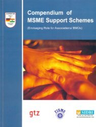 Compendium of MSME Support Schemes - Federation of Indian ...