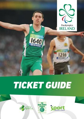 Download the Ticket Guide For London 2012 Paralympics ... - OCS